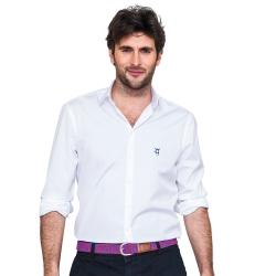 Chemise blanche unie